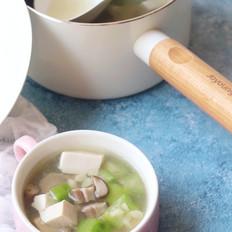 丝瓜香菇肉片汤