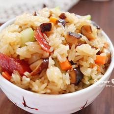 香肠炒糯米饭