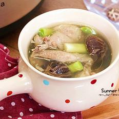 花菇煲鸡汤