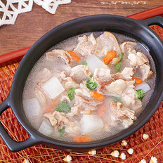 暖身羊排萝卜汤