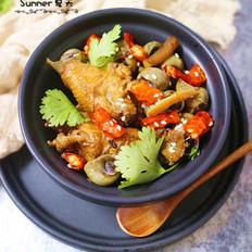 干锅螺蛳鸡