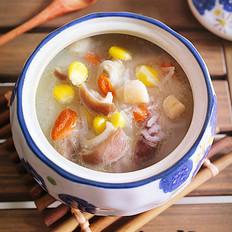 干贝萝卜猪肚汤