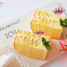 鲜奶油戚风蛋糕