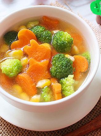 简单又快手,田园蔬菜汤的做法
