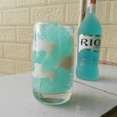 藍天白云果凍杯