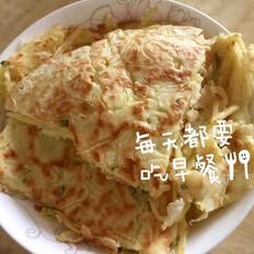 香葱土豆鸡蛋饼