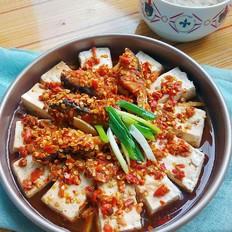 剁椒鱼块蒸豆腐