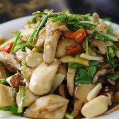 新鲜山棠菌炒肉