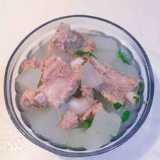 砂锅冬瓜排骨汤