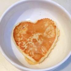 爱心玉米饼