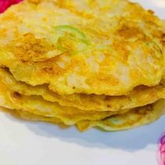 香蕉鸡蛋香米饼