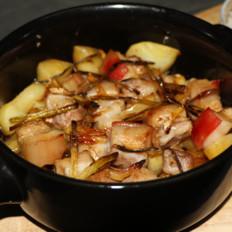 法帅蒸汽烤箱版-土豆炖五花肉