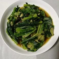 蒜蓉豆豉油麦菜