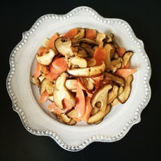 香菇炒火腿肠