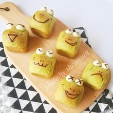 挤挤小面包-绿豆蛙表情包