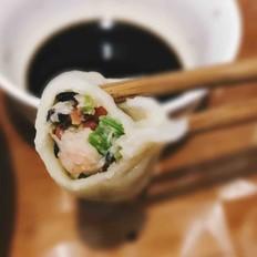 芹菜虾仁饺子