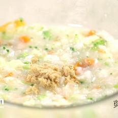 香松滑蛋三文鱼粥