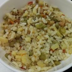什锦焖米饭