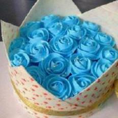 浪漫的蛋糕