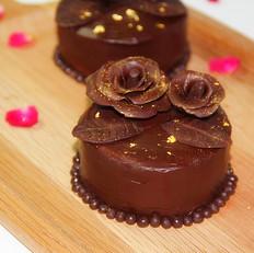 玫瑰巧克力慕斯