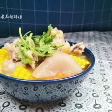 玉米番茄猪蹄汤