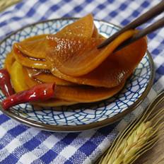 红糖酱萝卜