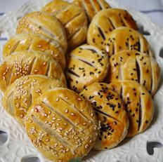 软糯豆沙/糯米老婆饼