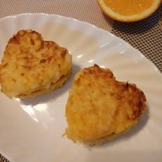 橙香米饭饼