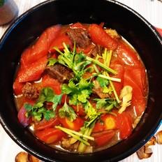 红萝卜烧牛肉