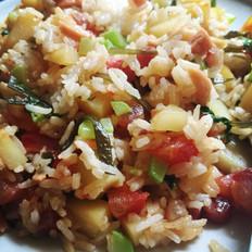 土豆蔬菜什锦烩饭