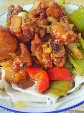 家常版新疆大盘鸡的做法