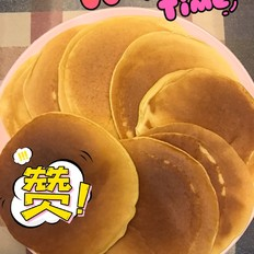 幸福的一天从早餐开始-奶香玉米松饼