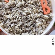 网红蒸槐花飘香麦饭