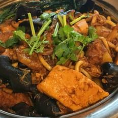 红烧肉炖菜