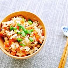 香菇胡萝卜鸡肉焖饭