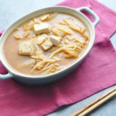 泡菜豆腐酱汤