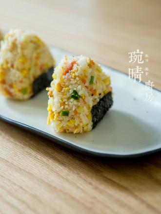 粽子炒饭团的做法
