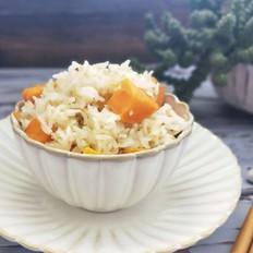 好吃又健康的红薯藜麦饭