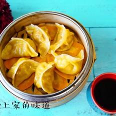 白萝卜猪肉蒸饺