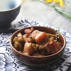 苦瓜豆豉炆五花肉