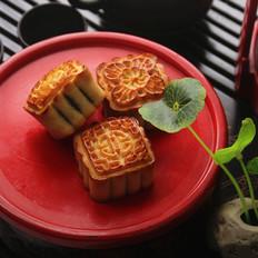 广式栗子蓉月饼