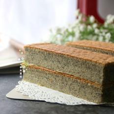 黑芝麻日式棉花蛋糕