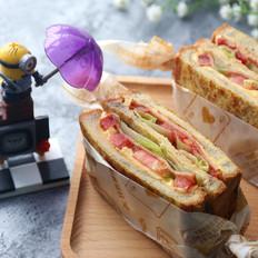 芝士黑芝麻三明治