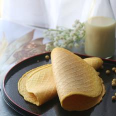豆浆及豆渣鸡蛋薄饼