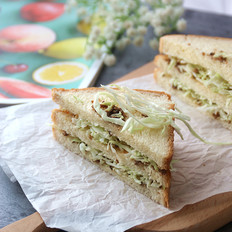 松露蔬菜三明治