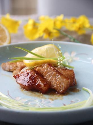 照烧汁烤猪颈肉的做法