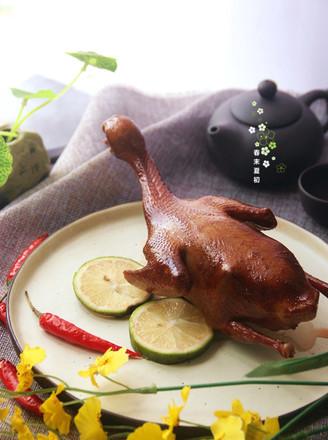 脆皮烤乳鸽的做法