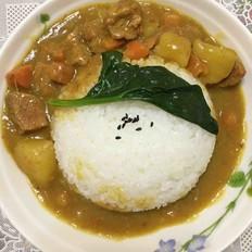 敏氏美味咖喱牛肉饭