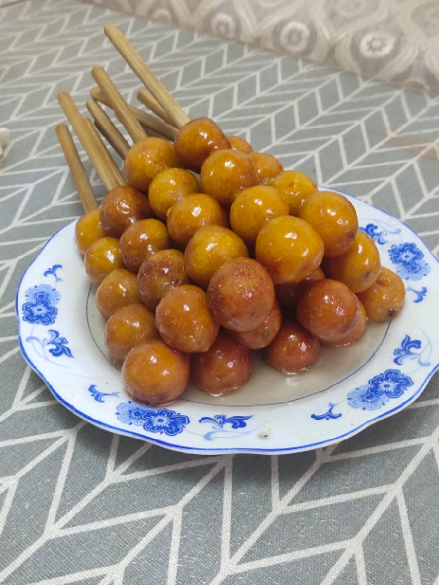 红薯糖葫芦