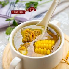 玉米虫草花排骨汤